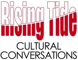 Rising Tide logo, Cultural Conversations