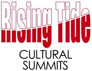 Risng Tide logo, Cultural Summits